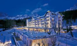 Cristallo Resort & Spa si trasforma in un'opera d'arte
